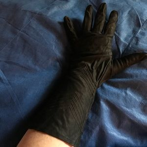 Black Fashion Gloves